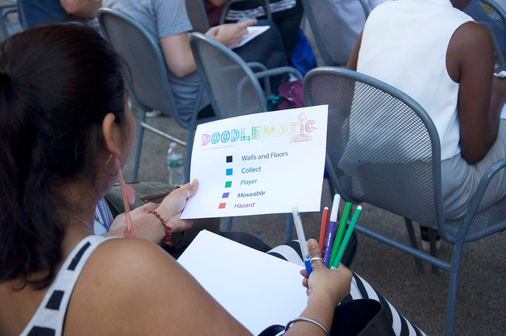 Flatiron District Tech Tuesday Summer Workshop DoodleMatic with Touro College's Graduate School of Technology
