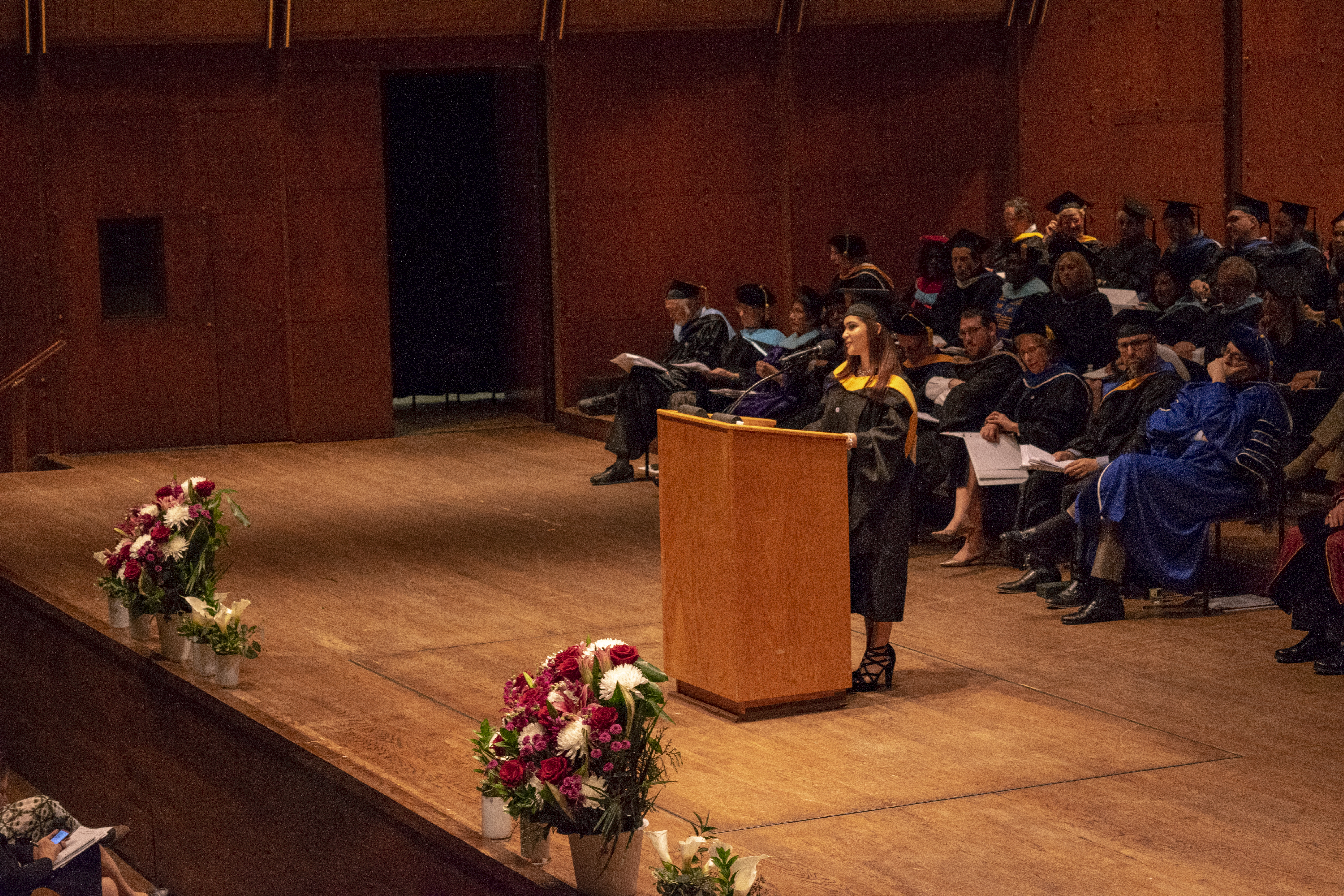 Mailen Nuñez Graduation Speech Touro Graduate School of Technology