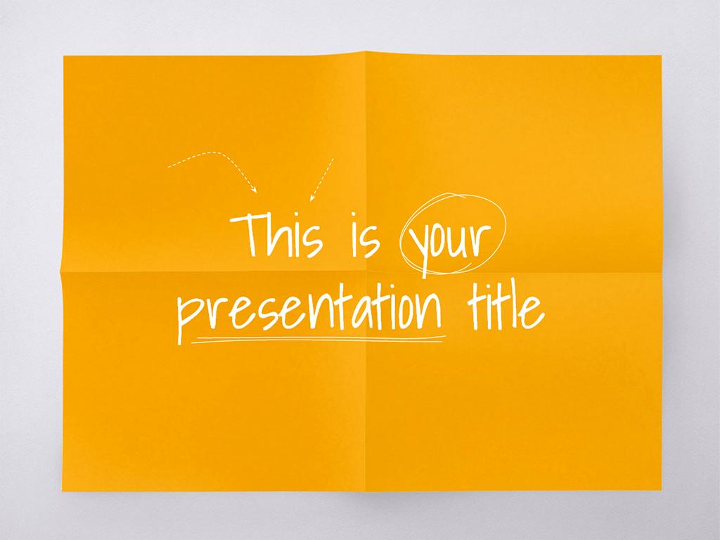 Pecha Kucha Presentation Design Elements