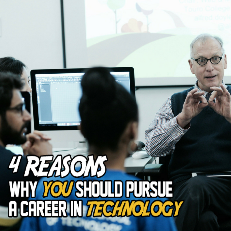 Featured Image for Why You Should Pursue a Career in Technology
