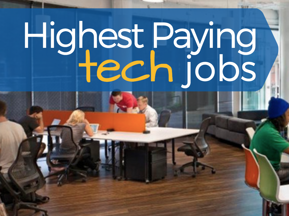 Featured Image for Highest Paying Tech Jobs