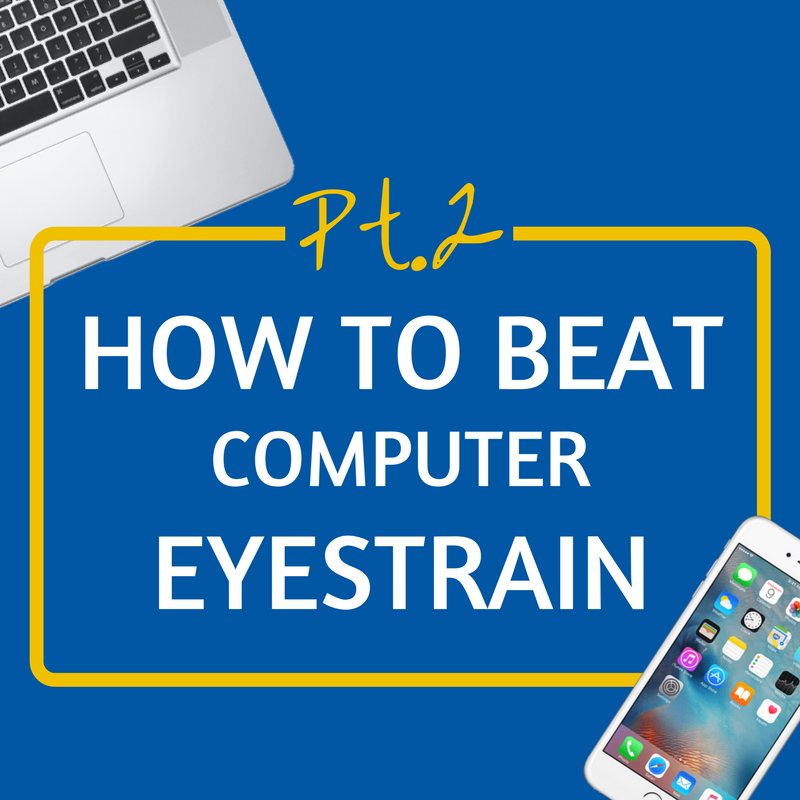 Featured Image for How To Beat Computer Eyestrain Part 2: Squeeze Blinking