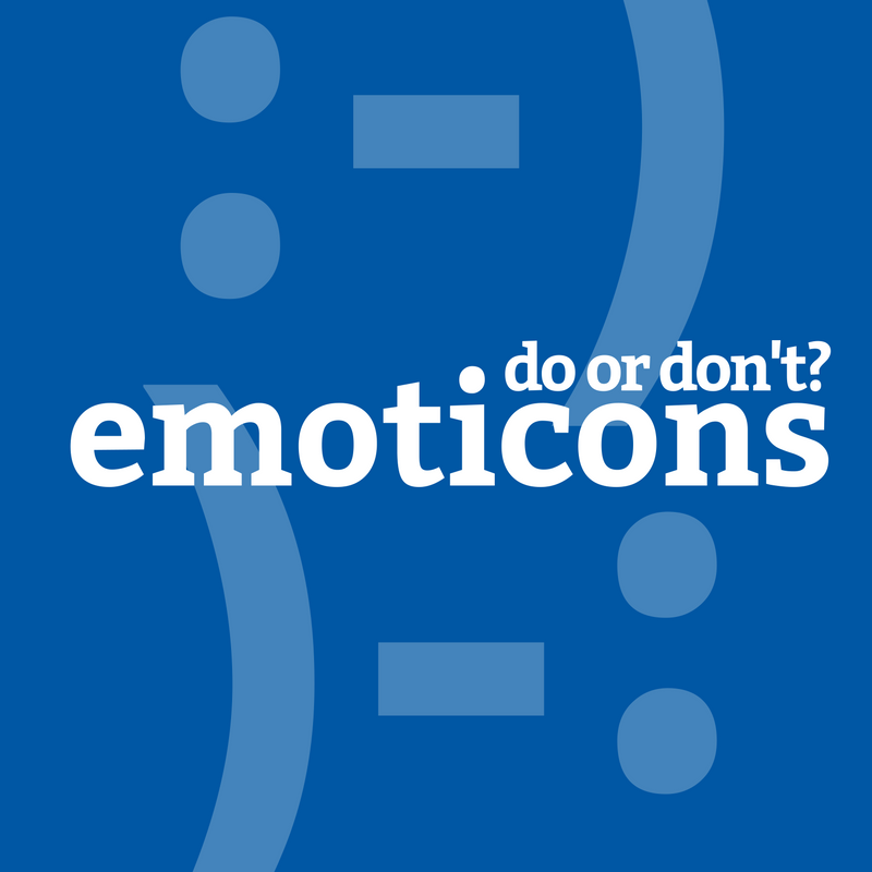 Featured Image for How To Use Emoticons in a Professional Environment